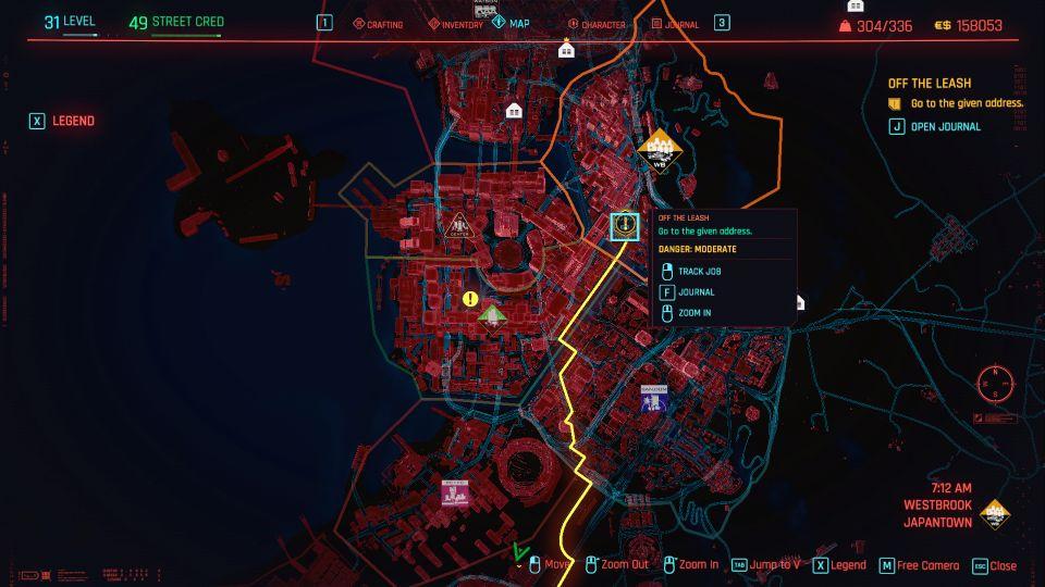 cyberpunk 2077 - off the leash guide