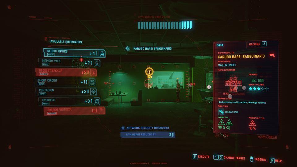 cyberpunk 2077 - old friends wiki
