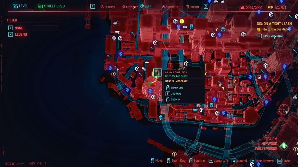 cyberpunk 2077 - on a tight leash guide