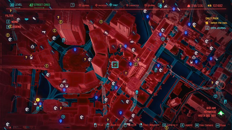 cyberpunk 2077 - only pain guide