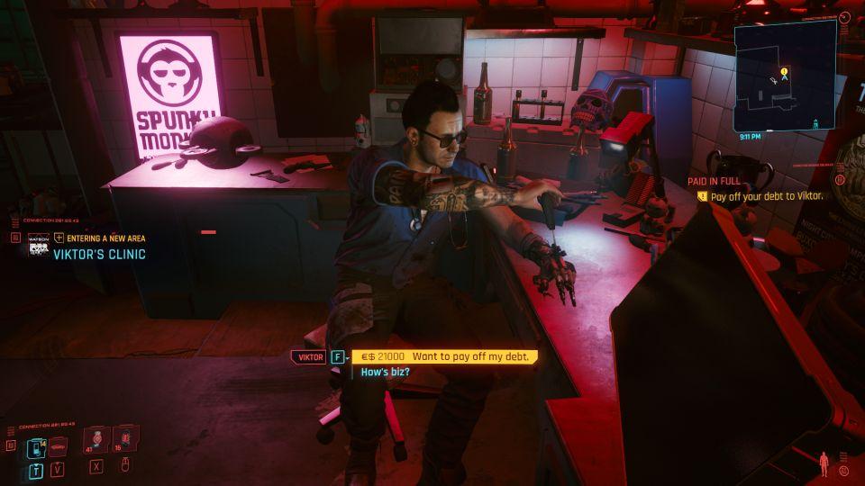 cyberpunk 2077 paid in full walkthrough