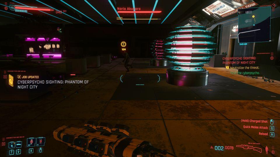 cyberpunk 2077 - phantom of night city walkthrough