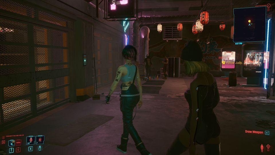 cyberpunk 2077 - pisces walkthrough
