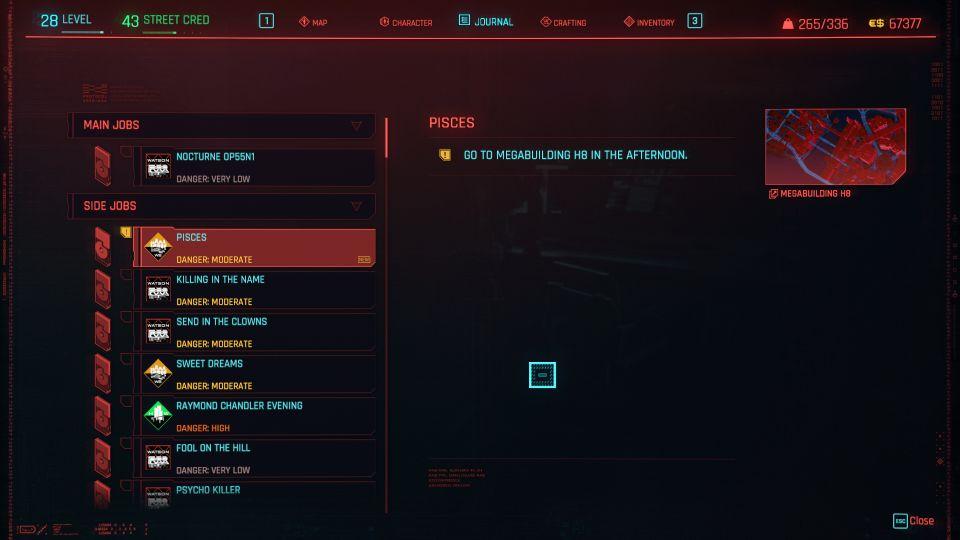 cyberpunk 2077 - pisces