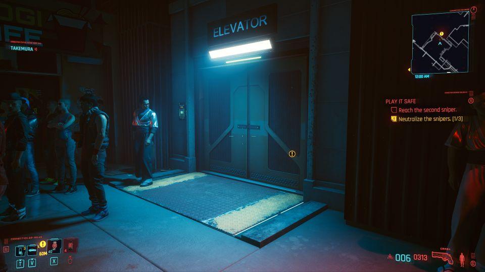 cyberpunk 2077 - play it safe help