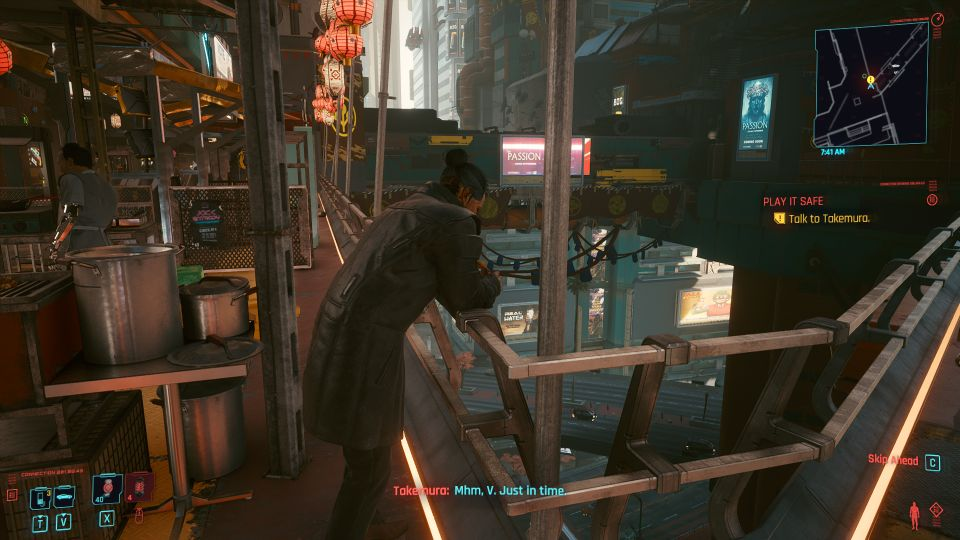cyberpunk 2077 - play it safe quest