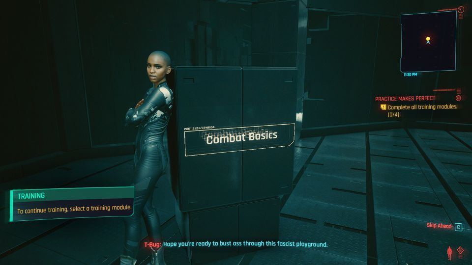 cyberpunk 2077 - practice makes perfect guide