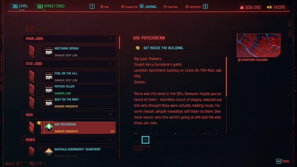 cyberpunk 2077 - psychofan