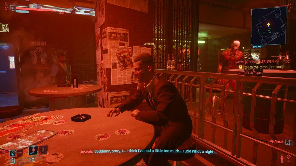 cyberpunk 2077 - raymond chandler evening wiki