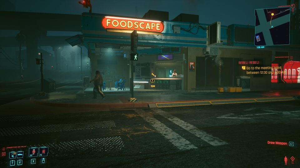 cyberpunk 2077 - rebel! rebel! mission