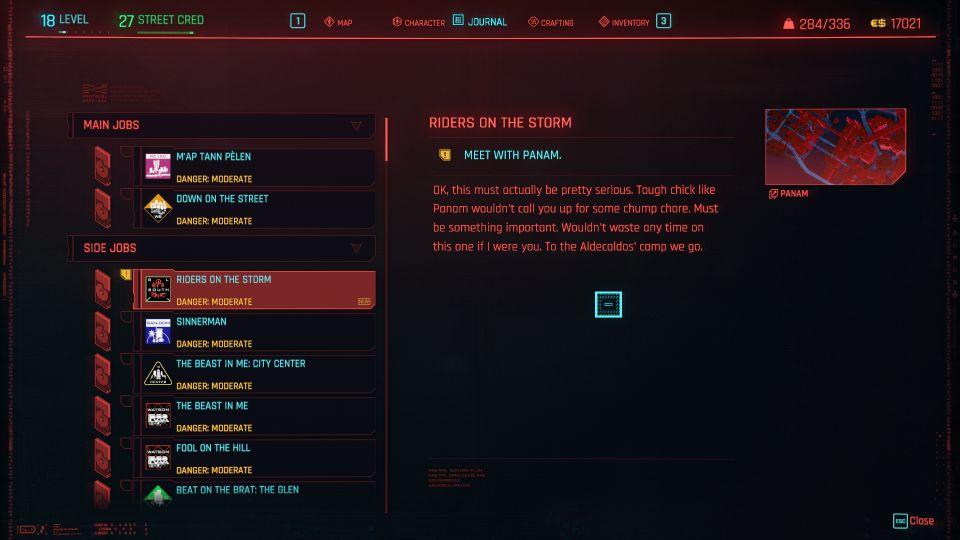 cyberpunk 2077 - riders on the storm