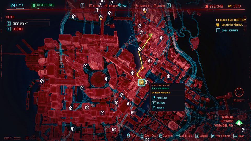 cyberpunk 2077 - search and destroy guide