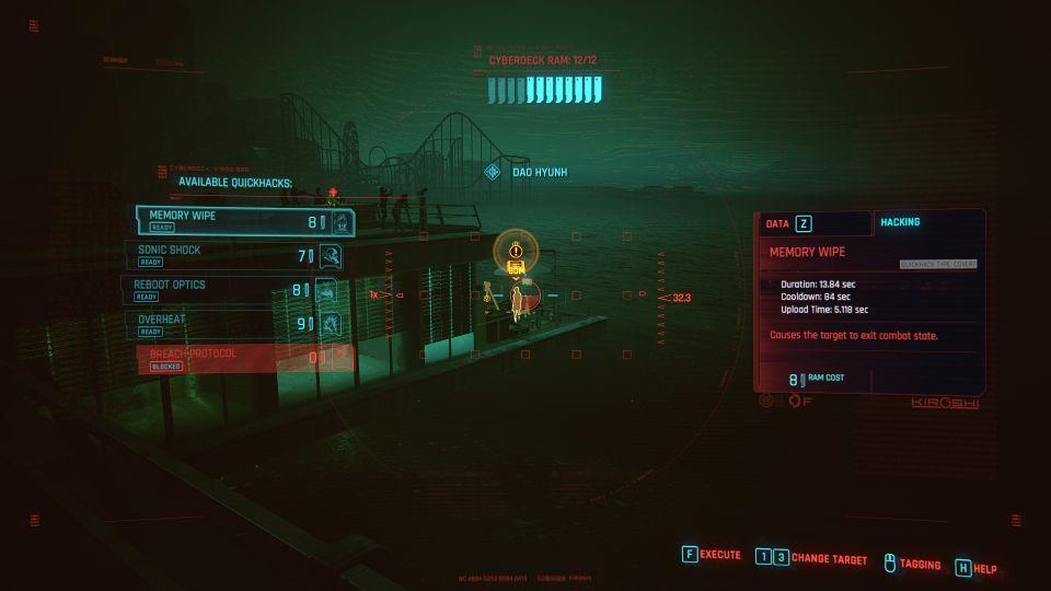 cyberpunk 2077 - seaside cafe (cyberpsycho sighting) mission