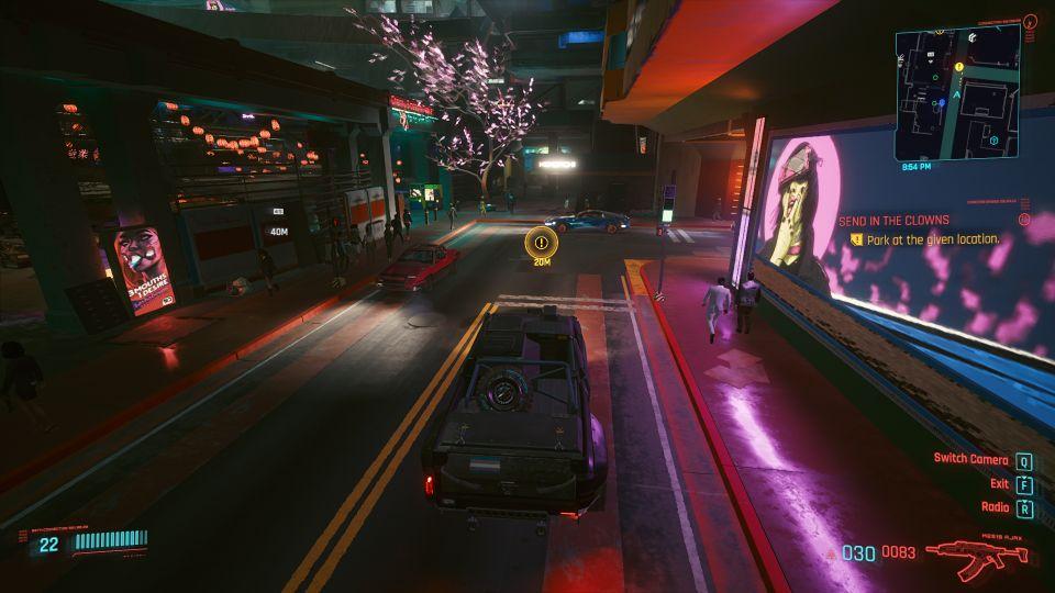 cyberpunk 2077 - send in the clowns mission