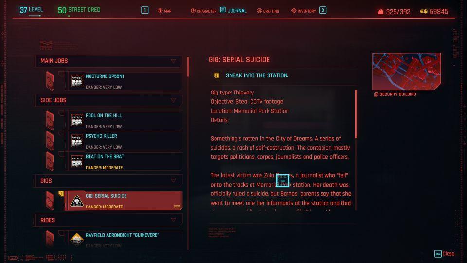 cyberpunk 2077 - serial suicide