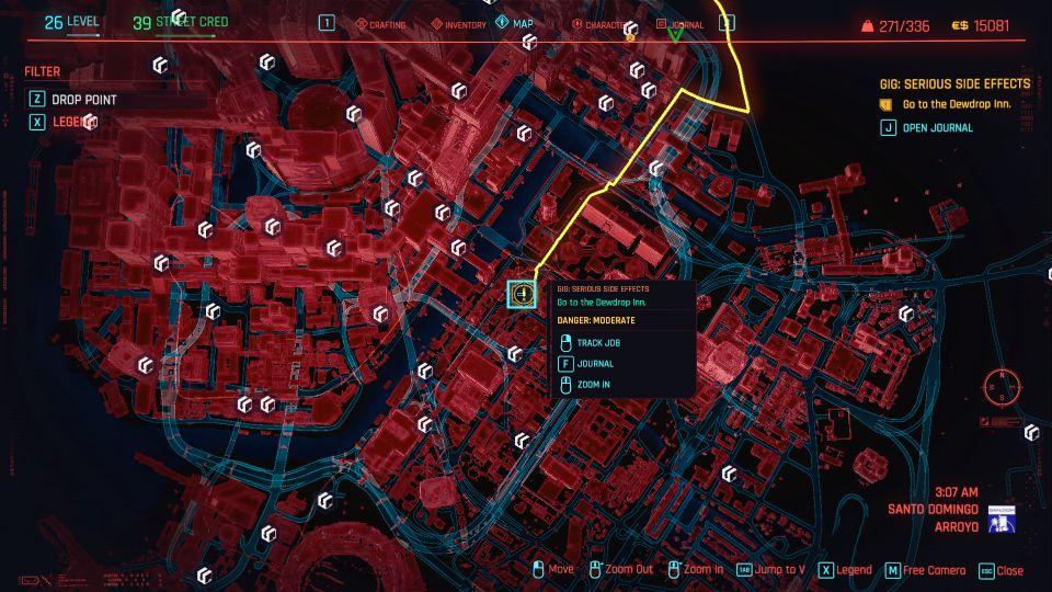 cyberpunk 2077 - serious side effects guide