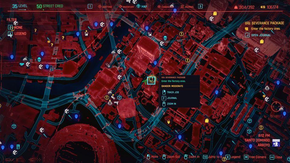 cyberpunk 2077 - severance package