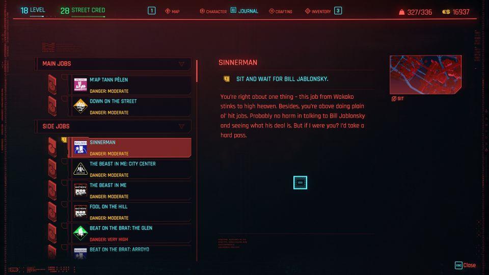 cyberpunk 2077 - sinnerman