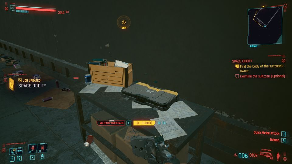 cyberpunk 2077 - space oddity wiki