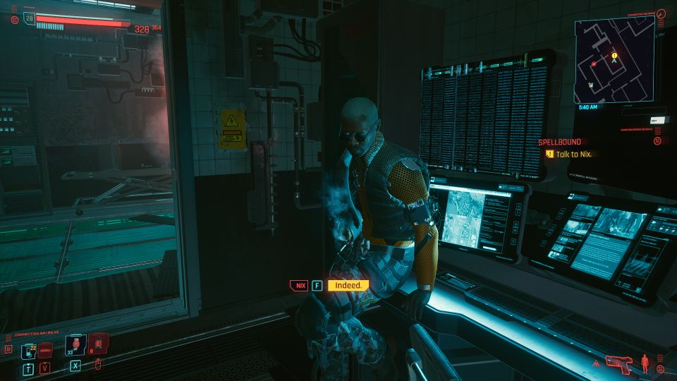 cyberpunk 2077 - spellbound mission