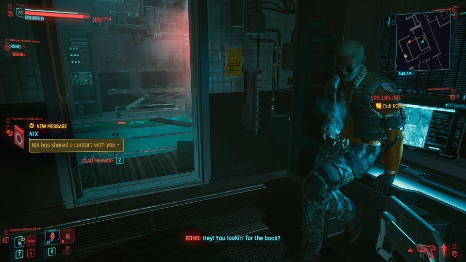 cyberpunk 2077 - spellbound walkthrough