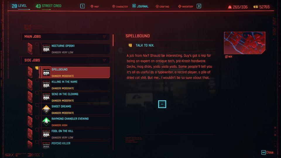 cyberpunk 2077 - spellbound