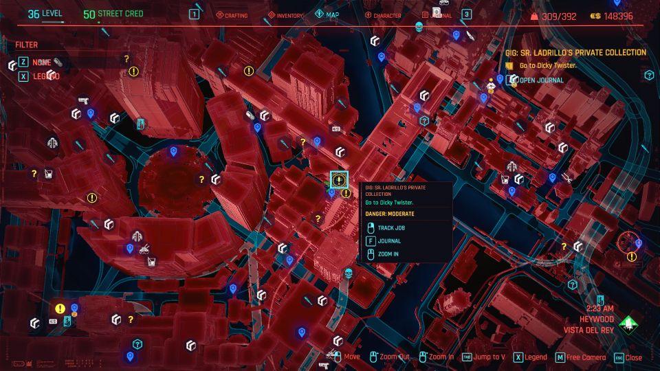 cyberpunk 2077 - sr ladrillo's private collection guide