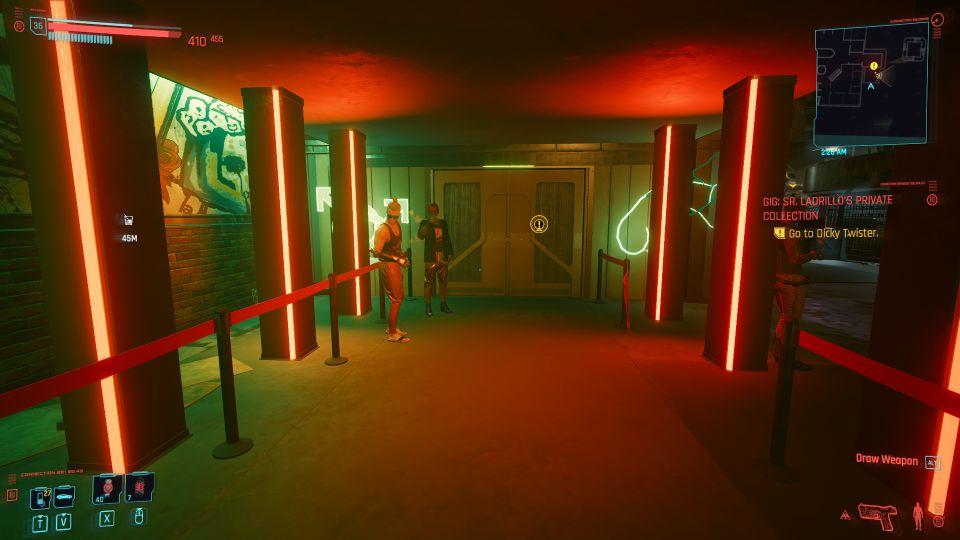cyberpunk 2077 - sr ladrillo's private collection walkthrough