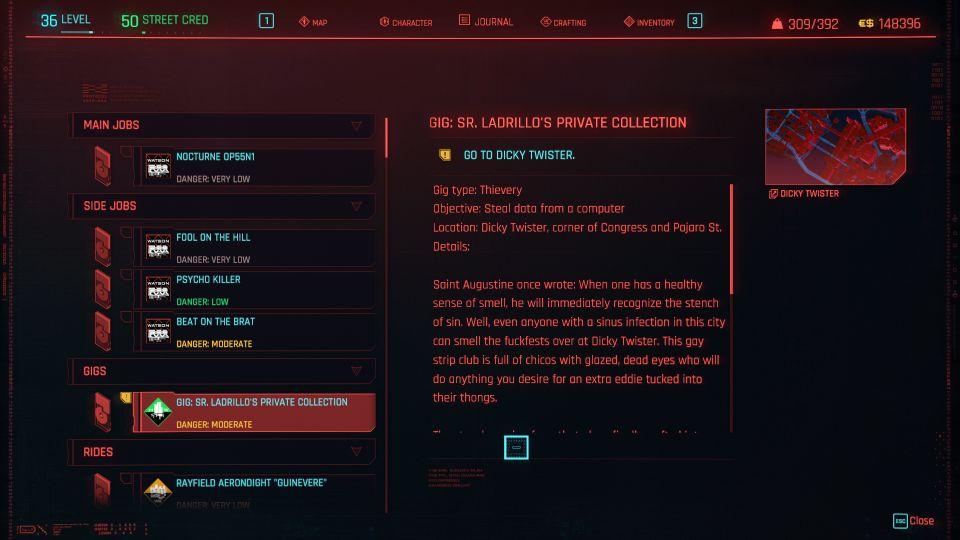 cyberpunk 2077 - sr ladrillo's private collection
