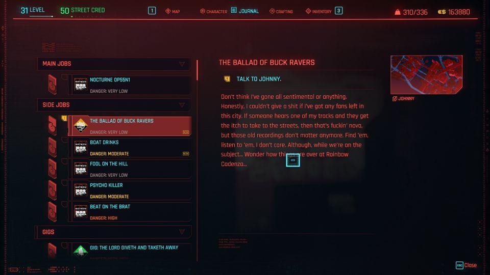 cyberpunk 2077 - the ballad of buck ravers