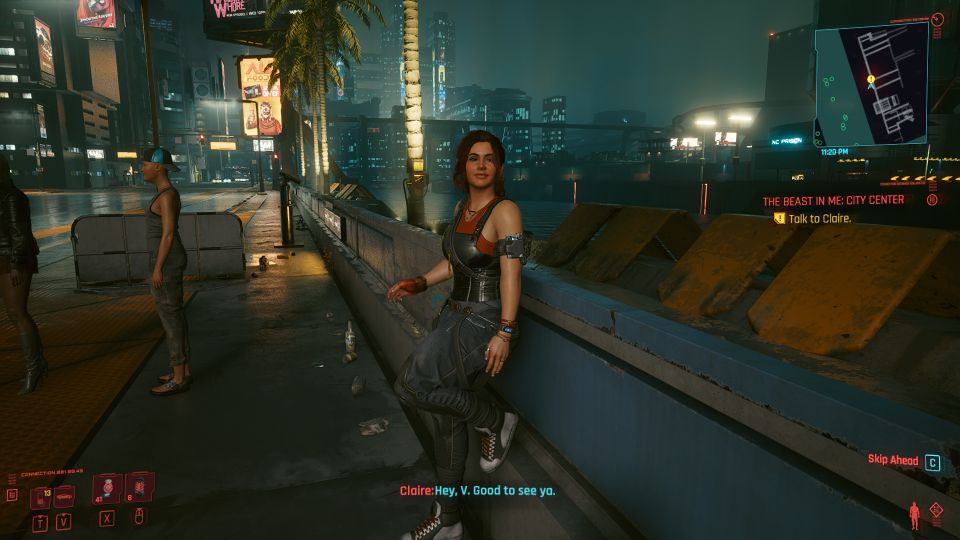 cyberpunk 2077 - the beast in me city center wiki