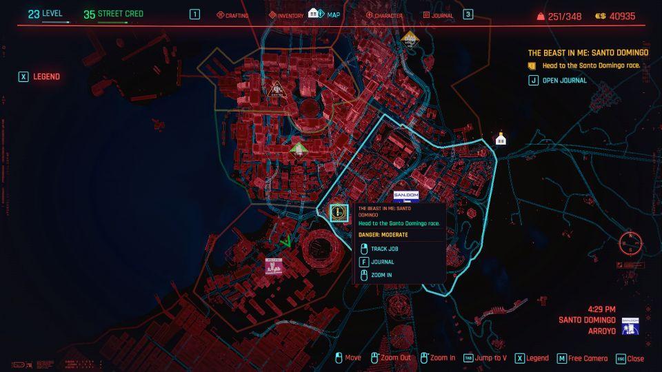 cyberpunk 2077 - the beast in me santo domingo guide