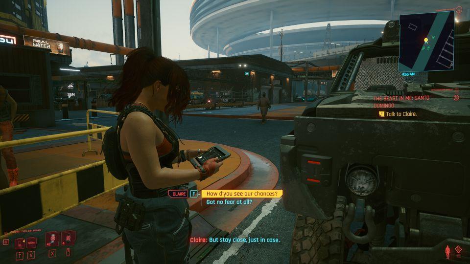 cyberpunk 2077 - the beast in me santo domingo wiki
