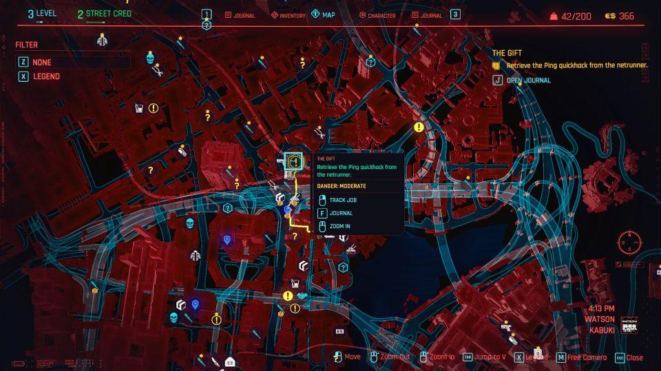 cyberpunk 2077 the gift guide
