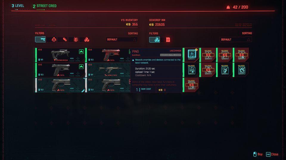 cyberpunk 2077 the gift tips