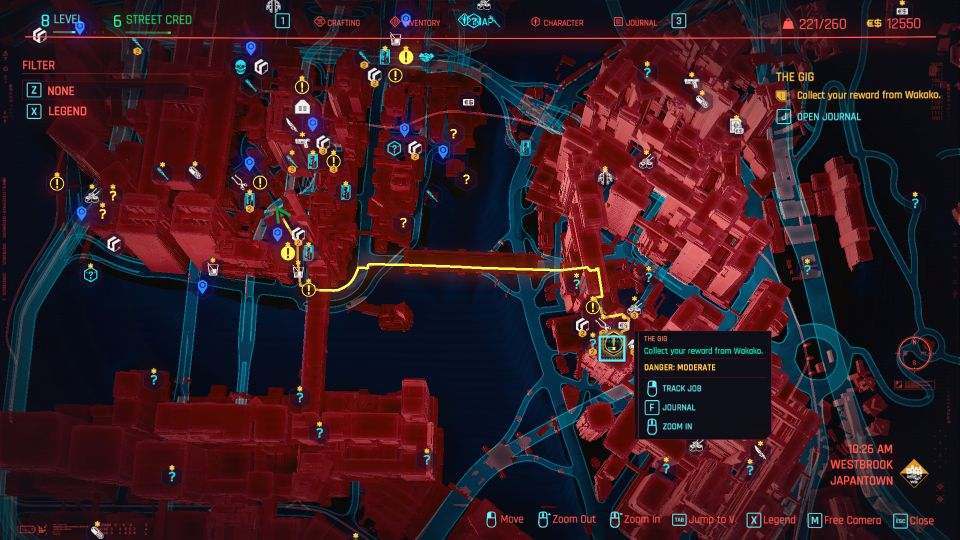 cyberpunk 2077 - the gig guide