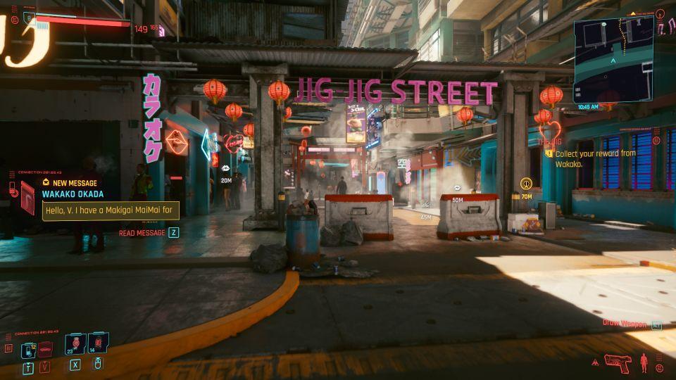 cyberpunk 2077 - the gig quest