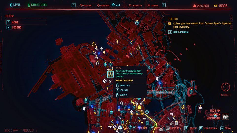 cyberpunk 2077 - the gig wiki