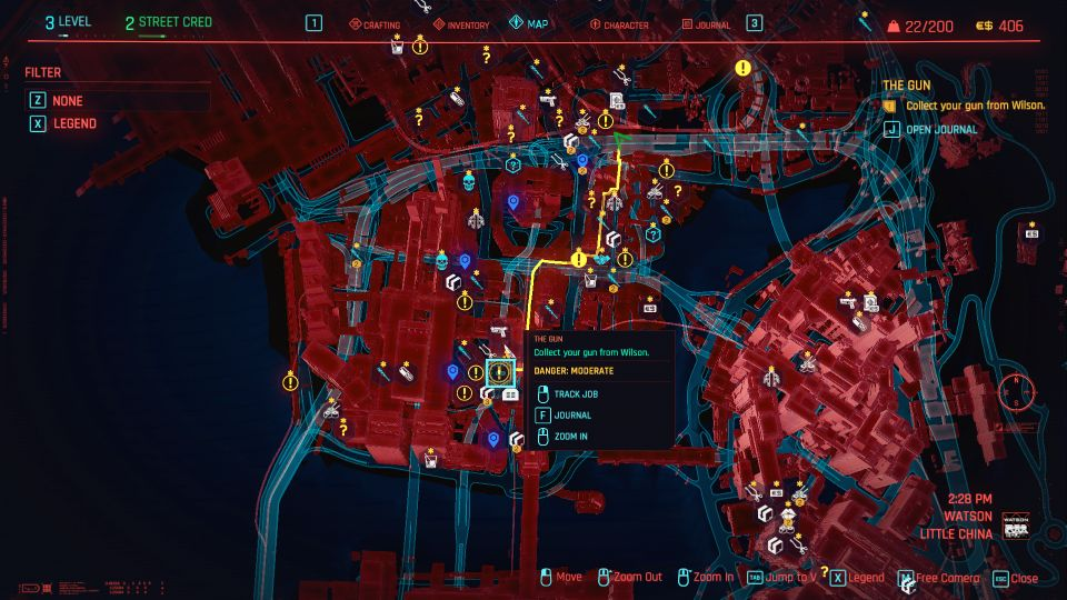 cyberpunk 2077 the gun guide