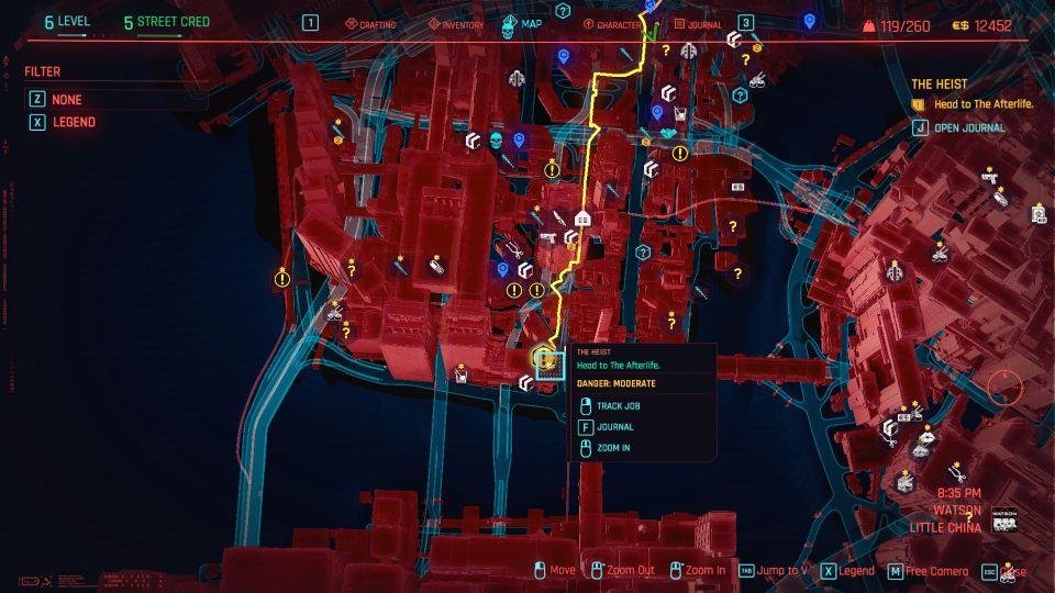 cyberpunk 2077 - the heist guide