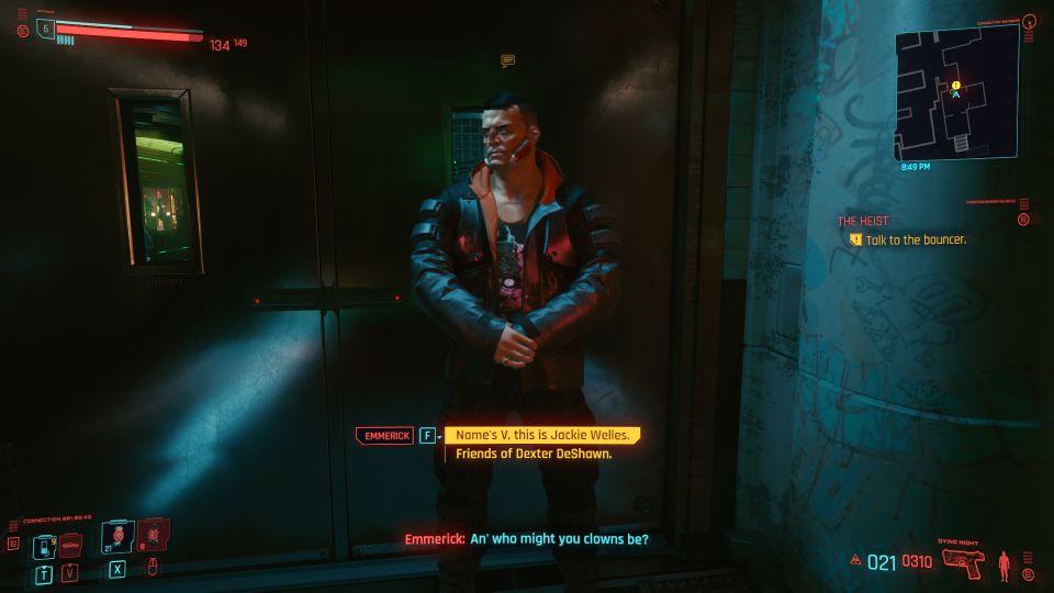 cyberpunk 2077 - the heist mission guide
