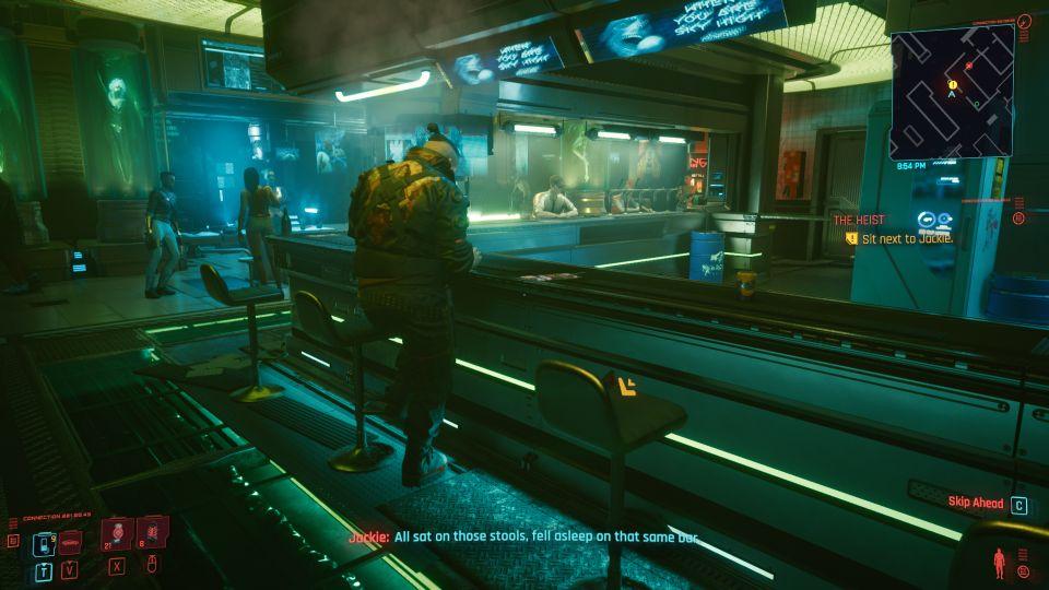 cyberpunk 2077 - the heist walkthrough