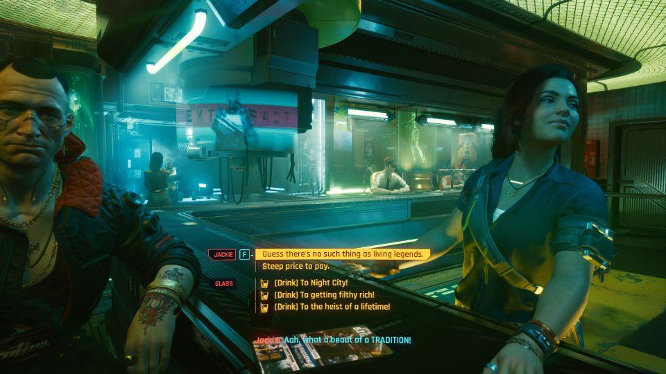 cyberpunk 2077 - the heist wiki