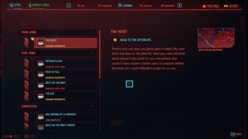 cyberpunk 2077 - the heist