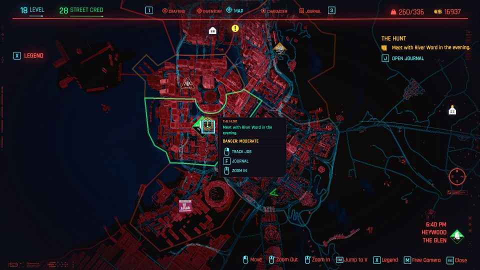 cyberpunk 2077 - the hunt quest
