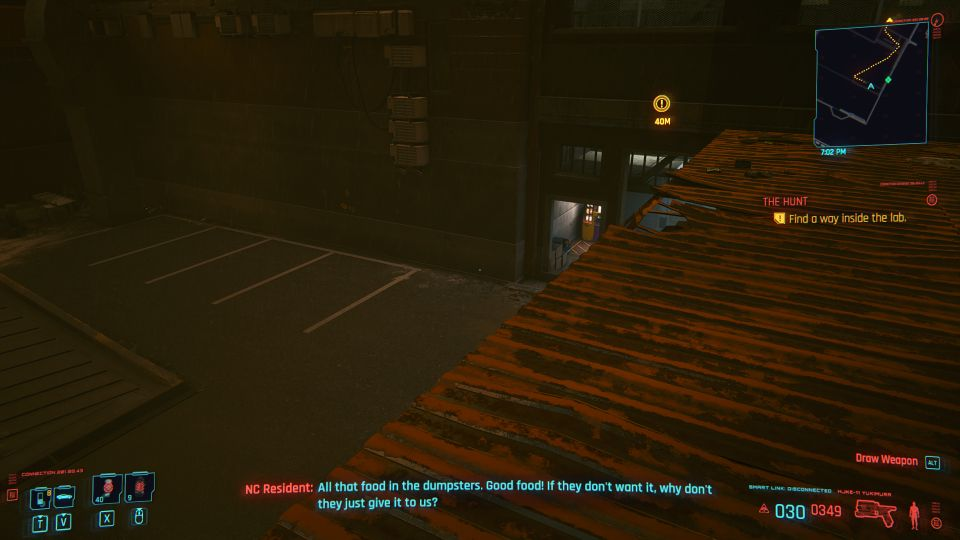 cyberpunk 2077 - the hunt walkthrough