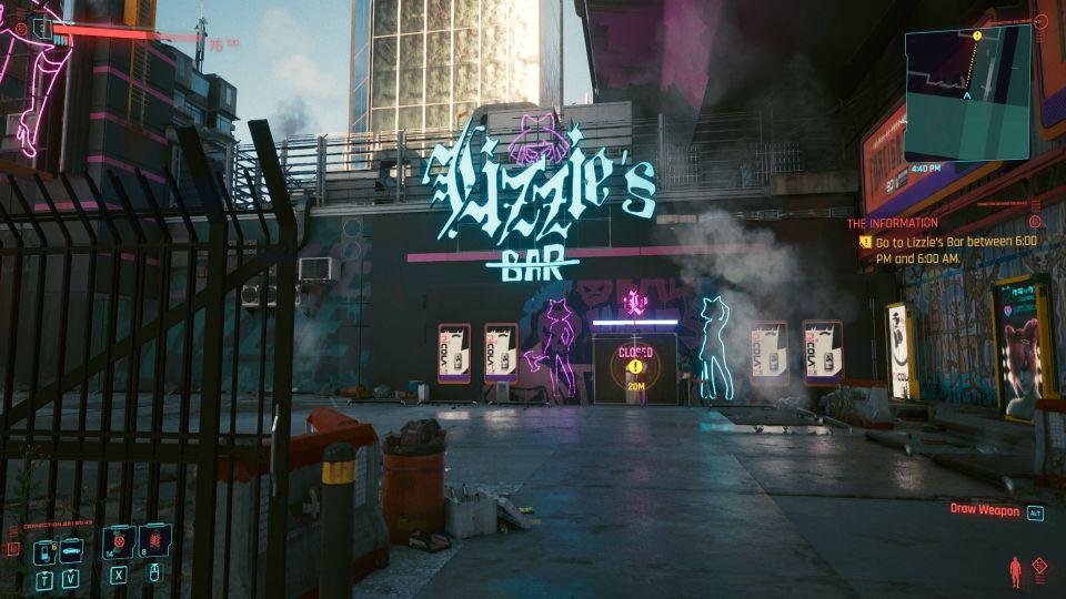 cyberpunk 2077 - the information quest