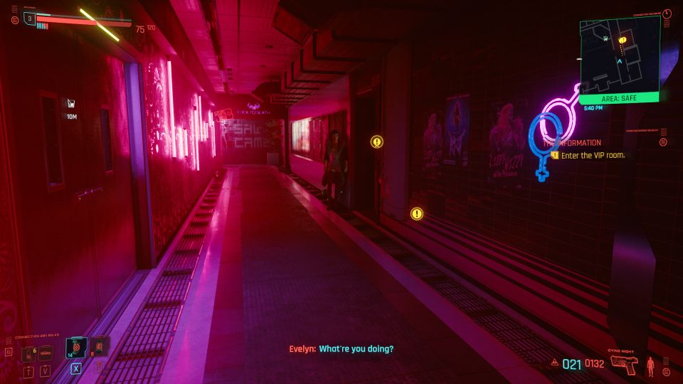 cyberpunk 2077 - the information security scan