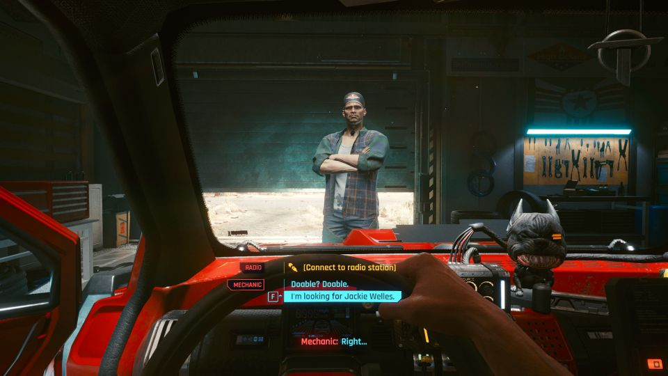 cyberpunk 2077 - the nomad mission guide