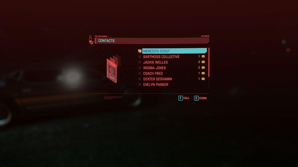 cyberpunk 2077 - the pickup mission